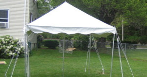 Tent, Rope and Pole 10'x 10′