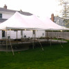 Tent, Rope and Pole 20'x 40′