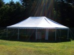 Tent, Rope and Pole 30'x 30′