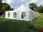 Tent, Rope and Pole 40'x 40′