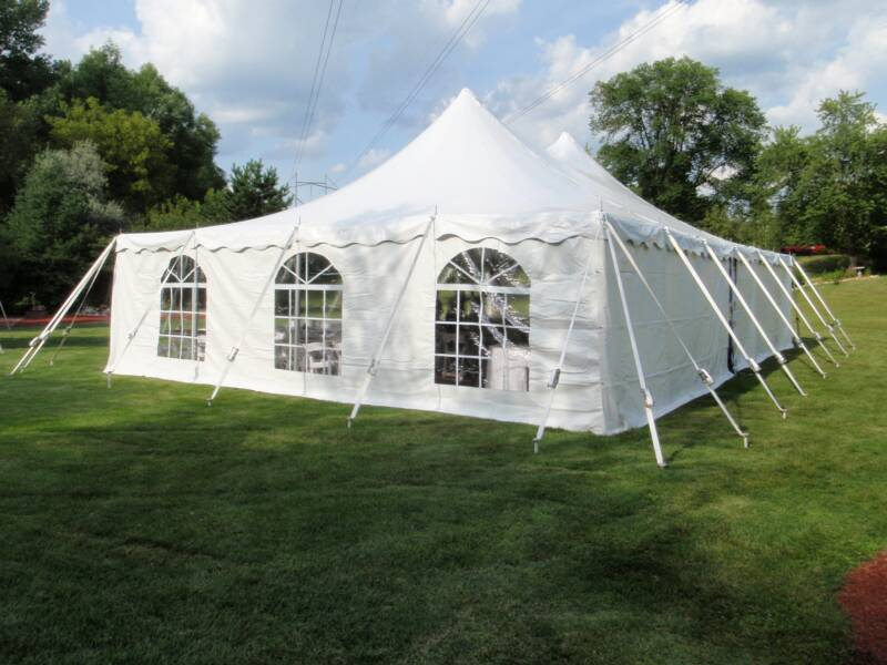 Tent Rope And Pole 40 X 40 Uptown Rentals