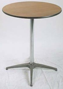 Cocktail Table, 24″ diameter