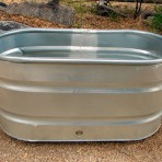 Galvanized Tub, Large