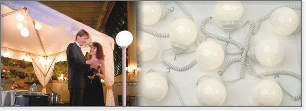 String Globe Lights - Uptown Rentals