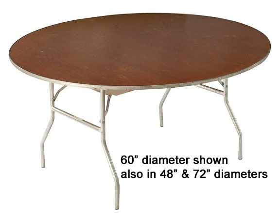 Table round 48 uptown rentals 48 round table seats how many