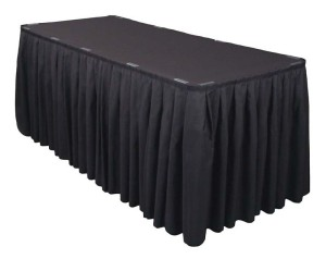 Table Skirt, Polyester