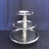 Tray, Tiered Three Fancy