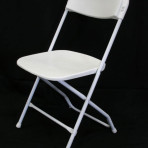 Folding Chair Basic White