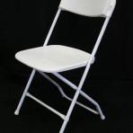 Folding Chair Basic White