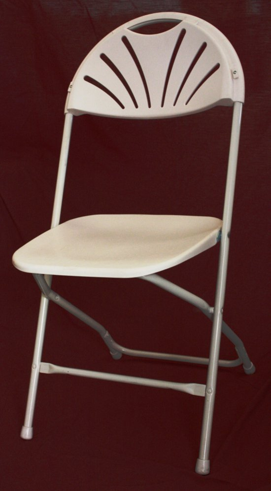 Folding Chair Fan Back Uptown Rentals