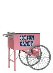 Cotton Candy Machine Cart