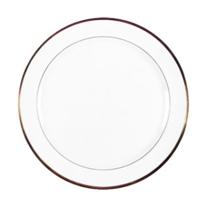 Gold Rimmed Plate, Dinner