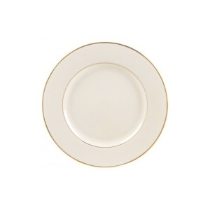 Gold Rimmed Plate