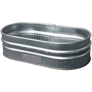 Galvanized Tub, Small