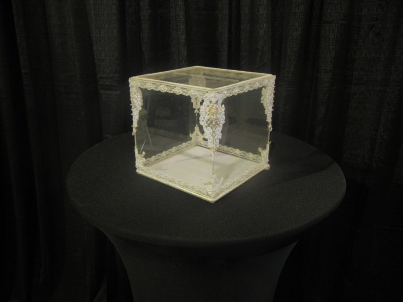 Acrylic Card Box Uptown Rentals