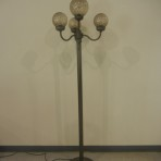Lights, Four Globe, 6′ Brown with brown globes