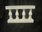 Roman, Balustrade Four Post