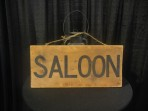 Western, Saloon Sign