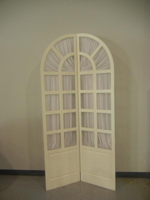 Backdrop White Window 8ft Uptown Rentals
