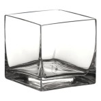Centerpiece, Cylinder Square, 3″ tall
