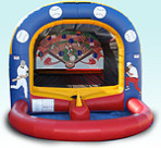 Inflatable Baseball Toss