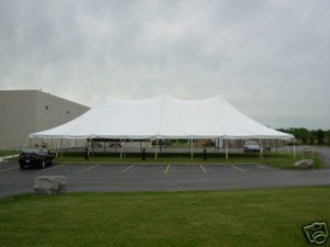 Tent, Rope and Pole 40'x100′