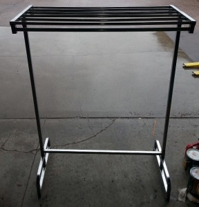 Rack, Coat Rack w/out Wheels