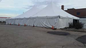 Tent, Rope and Pole 60'x60′