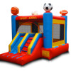 Sports Bounce House with Slide